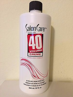 32 Oz Creme (Salon Care 40 Volume Creme Developer 32 oz NEW!)