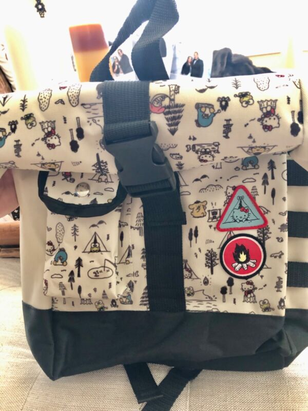 NWOT Loot Crate Sanrio Hello Kitty And Friends Camping S'mores Backpack Rucksuck