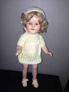 1930 Shirley Temple porcelein doll in original condition. $250. Bundall Gold Coast City Preview