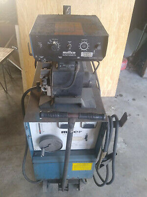Miller Cp-300 Dc Mig Welder With Millermatic S-54e Wire Feeder