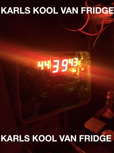 24 Volt Bus/Motorhome Fridge Cooling Twin 120mm Fans Electronic TE888 Controller