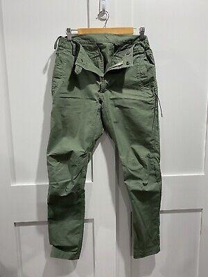 Maharishi Khaki Green Cargo Pants Men's Size Medium