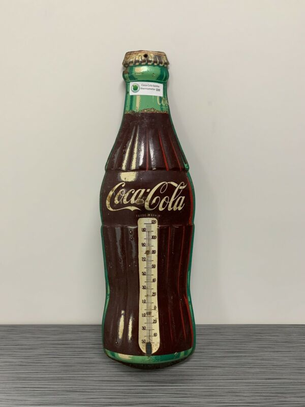 Coca Cola Coke Bottle Thermometer