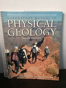 Laboratory Manual in Physical Geography Ninth Edition. Mint.