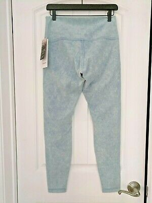 "Lululemon Wunder Under High Rise Tight 28""  Snow Washed Chambray  WCHM Size 10"
