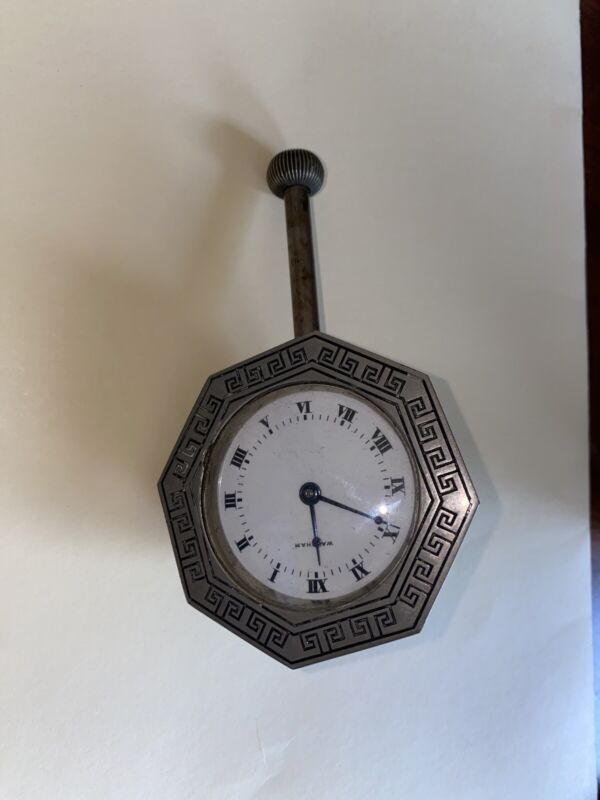 Antique Waltman Car Clock