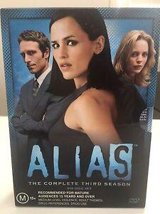 ALIAS Third Season six CD set Grovedale Geelong City Preview