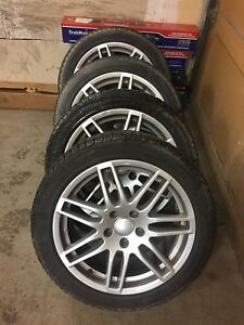 ***4 Michelin SNOW TIRES *** - EXCELLENT condition - ON RIMS