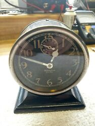 Rare Antique Westclox Ben Hur Style 1 Alarm Clock-Circa 1927-Running!! Serviced!