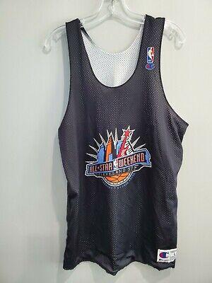 Rare VTG Michael Jordan 1997 NBA All Star Game Reversible Practice Jersey Mens L