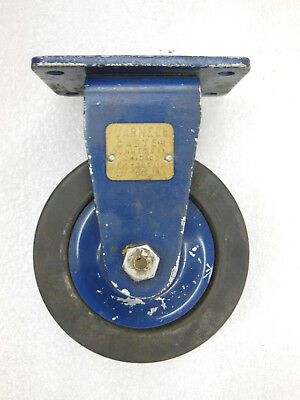 1 Vtg 4 Darnell Industrial Caster W Brass Tag - Overall Height 5 14 - Nos