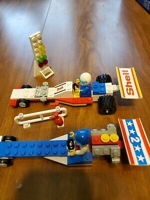 Lego 6591 Nitro-Dragsters (Nitro Dragsters) - 1989 - parts lot