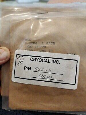 Cryocal Acd O-ring 80228 Lot Of 4. Box 2