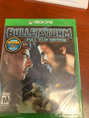 BULLETSTORM FULL CLIP EDITION Xbox one SEALED! Free shipping! Best price