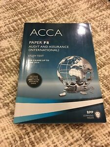 ACCA F8 audit and assurance (study text)