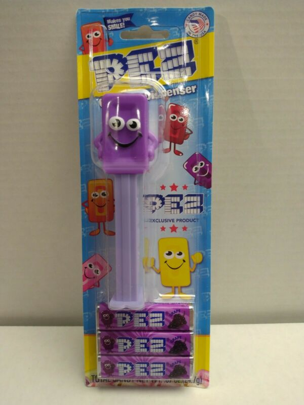 PEZ New Grape (Purple) Mascot