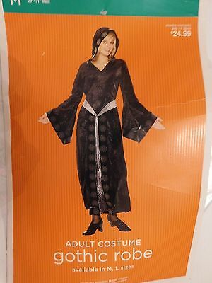 Womens Gothic Robe Complete Halloween Costume Size M Or 8-10 Women's  (Womens Gothic Halloween Costumes)