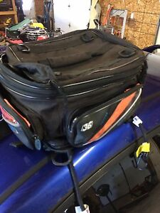 Motorcycle rear bag.