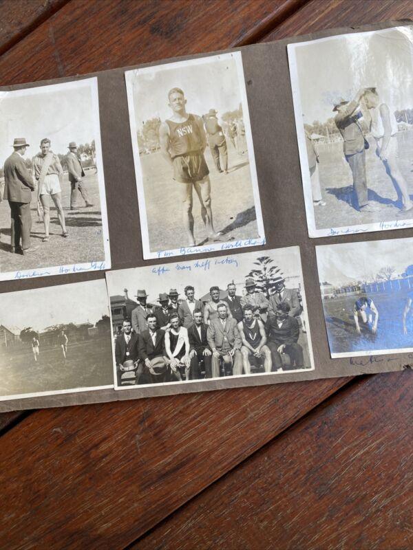 10 Photos Australian Sprinting Races c1933 Bay Sheffield Ararat Gift Tim Banner