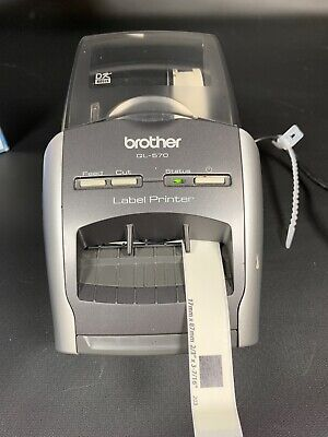 Brother Ql-570 Professional Thermal Label Printer Inkless Printing