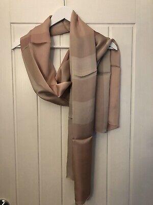 Burberry 100% Silk Scarf. Ladies Designer. Brand New.