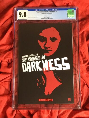 CGC 9.8~YOU PROMISED ME DARKNESS #1~COVER B 1st PRINT~DAMIAN CONNELLY~BEHEMOTH