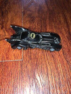 Vintage 1989 Ertl DC Comics Batmobile die cast car Batman