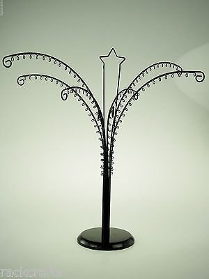 Centerpiece Rotating Octopus Arm Tree Jewelry Display Hang Ornaments Decoration