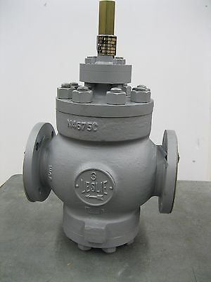 3 150 Leslie Lns-5d Flanged Wcb Pressure Reducing Valve New R26 2096