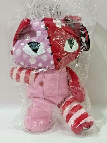 Emily Strange Miles Patchwork Pink Kitty Plush Toy L