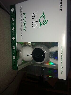 Arlo Baby Monitor 1080p HD Monitoring Smart Camera Netgear