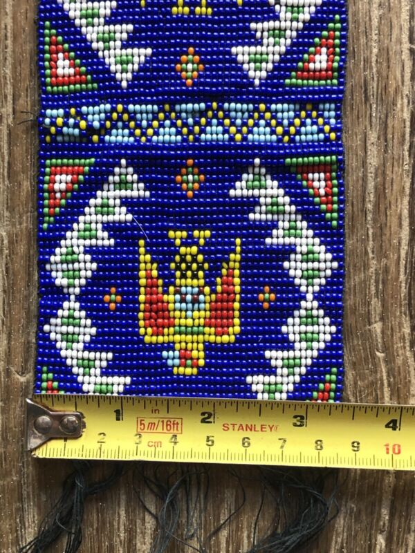 Vintage unknown American Style Bead work~  Old