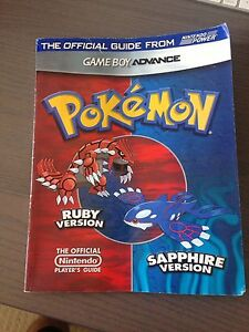 Pokemon Ruby Sapphire Players Guide