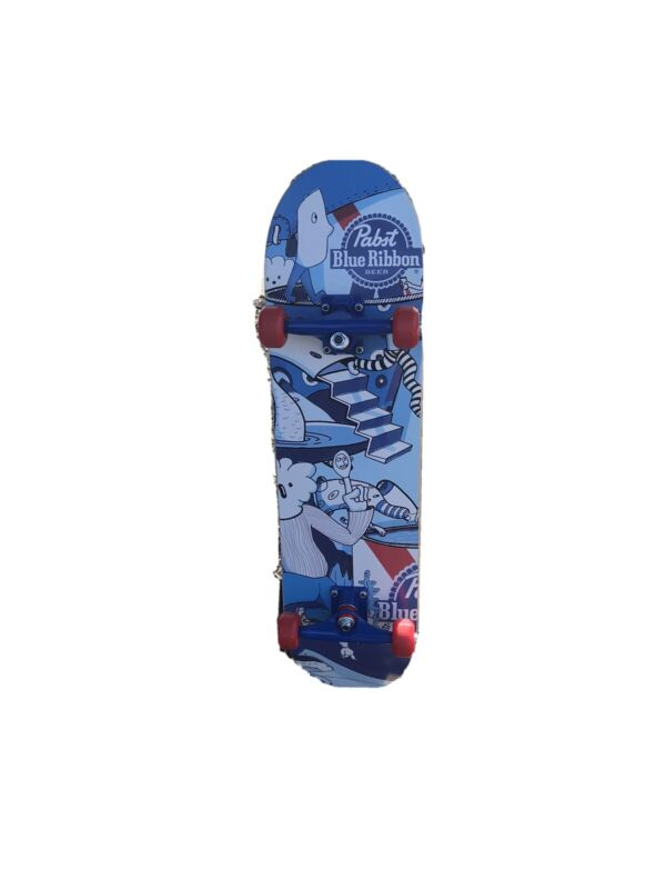 Rare Pabst Blue Ribbon Promotional Skateboard Brand New Condition PBR Man Cave