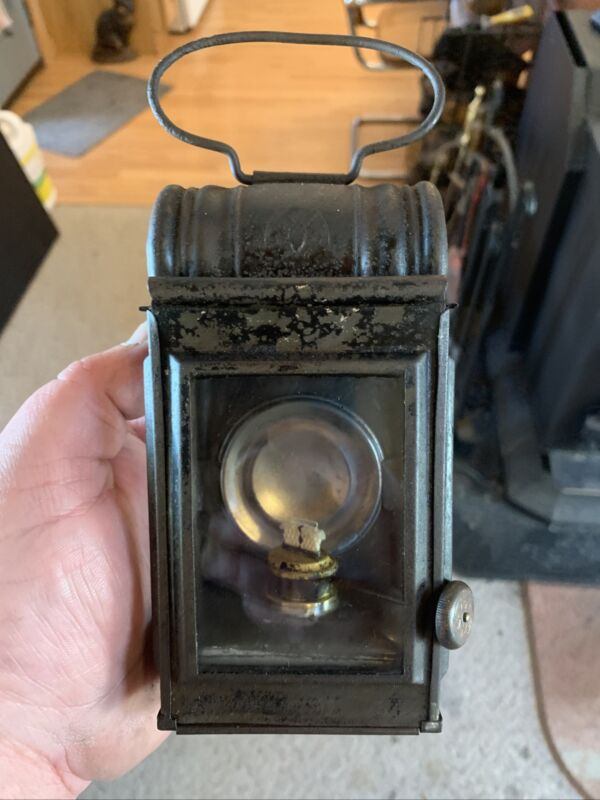 Very Rare Antique Bat Hand Lantern All Original And Extremely Hard To Find Mint!