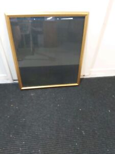 2 x Large picture frames with gold rims
