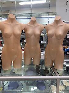 Female half mannequins Brunswick Moreland Area Preview