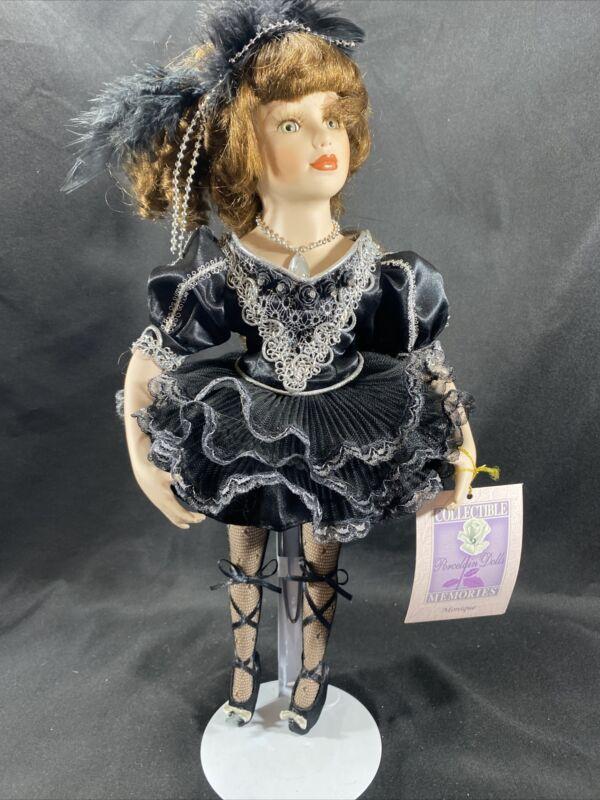 Collectible Memories Monique Porcelain Doll Collector