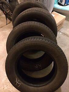 Set of 235 60 R17 all season tires