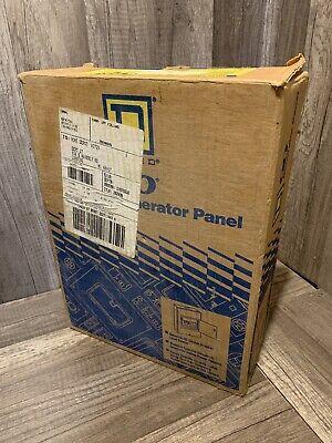 Square D Q04-8m60dsgp Indoor Generator Panel 60a 4 Spaces 8 Circuits Locq 60a