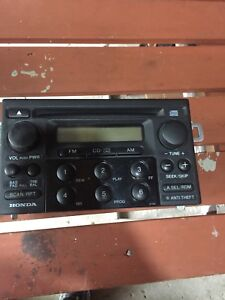 Radio - Sold Honda Accord Heat Cluster available