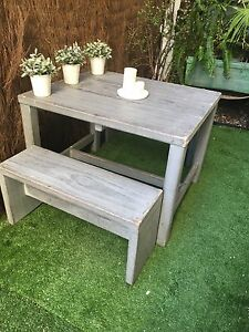 Solid oak patio set Watsons Bay Eastern Suburbs Preview
