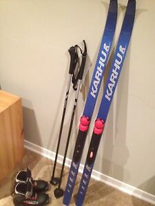 Kids Cross Country Ski Set