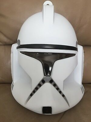Star Wars Clone Trooper Adult Costume Mask Rubies Licensed - Star Wars Clone Costumes