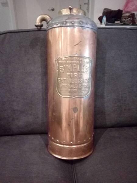 Vintage Simplex Fire Extinguisher Wormald Bros Antiques Gumtree Australia Wyndham Area Werribee 1197192446