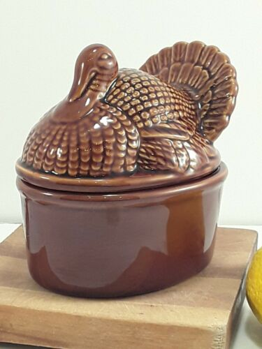 Turkey Tureen World Market Covered Individual Casserole Serving Dish