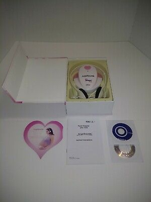 Angelsounds Fetal Doppler Jpd-100s Baby Heart Monitor Fda Approved Usa Pink D2