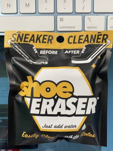 (1) SHOE ERASER White Sole Sneaker Cleaner Clean Your Kicks FREE SHIPPING