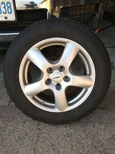 VW Touareg snows on RIAL Rims