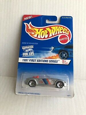 Hot Wheels BMW M Roadster #6/12 1997 First Editions D6
